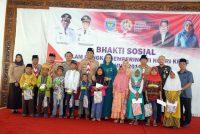 PEMKAB OKU SELATAN GELAR BAKTI SOSIAL DALAM RANGKA PERINGATAN HUT KE-73 REPUBLIK INDONESIA