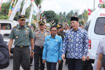 JALIN KEDEKATAN BERSAMA MASAYARAKAT PADA PERINGATAN HUT TNI KE 73