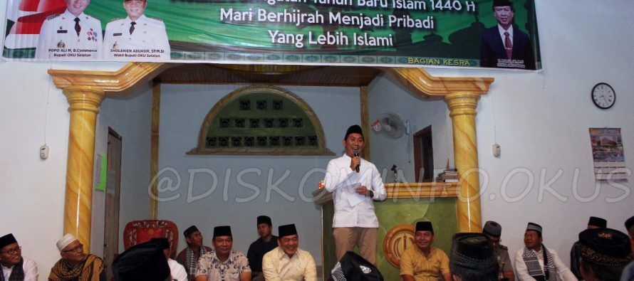 PEMKAB OKU SELATAN PERINGATI 1 MUHARRAM TAHUN BARU ISLAM 1440 H