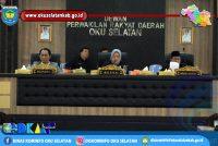 SIDANG PARIPURNA DPRD DALAM RANGKA PEMBAHASAN RKA-OPD RAPBD KABUPATEN OKU SELATAN TAHUN 2019