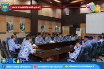 PEMKAB OKU SELATAN GELAR RAPAT KOORDINASI TIM MONITORING PEMILU SERENTAK 2019