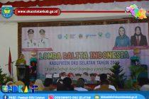 DINAS KESEHATAN OKU SELATAN GELAR LOMBA BALITA INDONESIA TINGKAT KABUPATEN OKU SELATAN TAHUN 2019