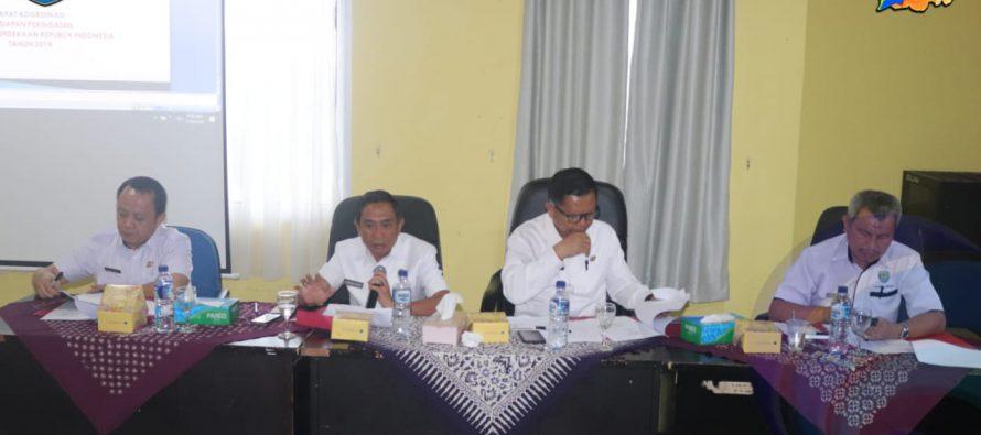 JELANG HUT RI KE-74 PEMKAB OKU SELATAN GELAR RAKOR PERSIAPAN PERINGATAN KEMERDEKAAN REPUBLIK INDONESIA